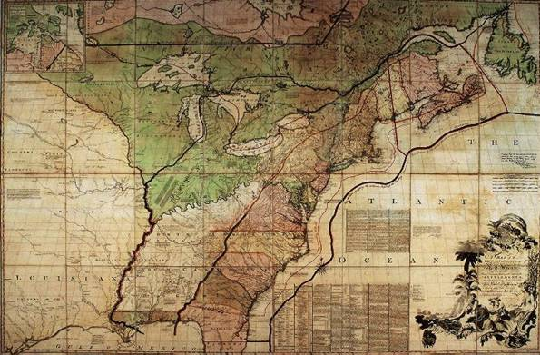 French and Indian Wars Map